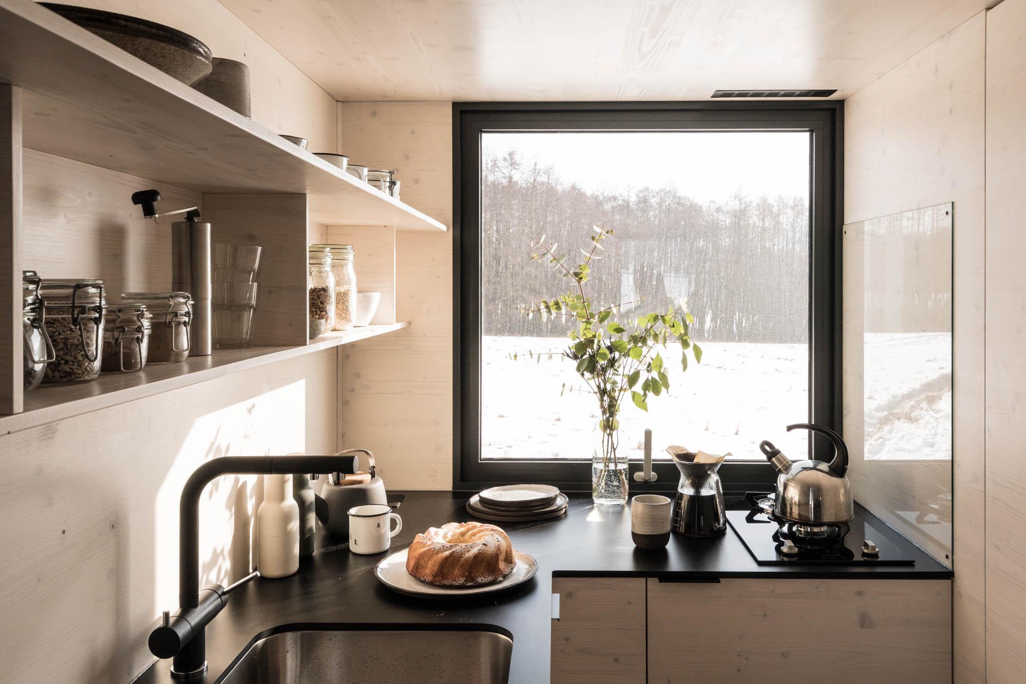 Mobile Hut kuchyň