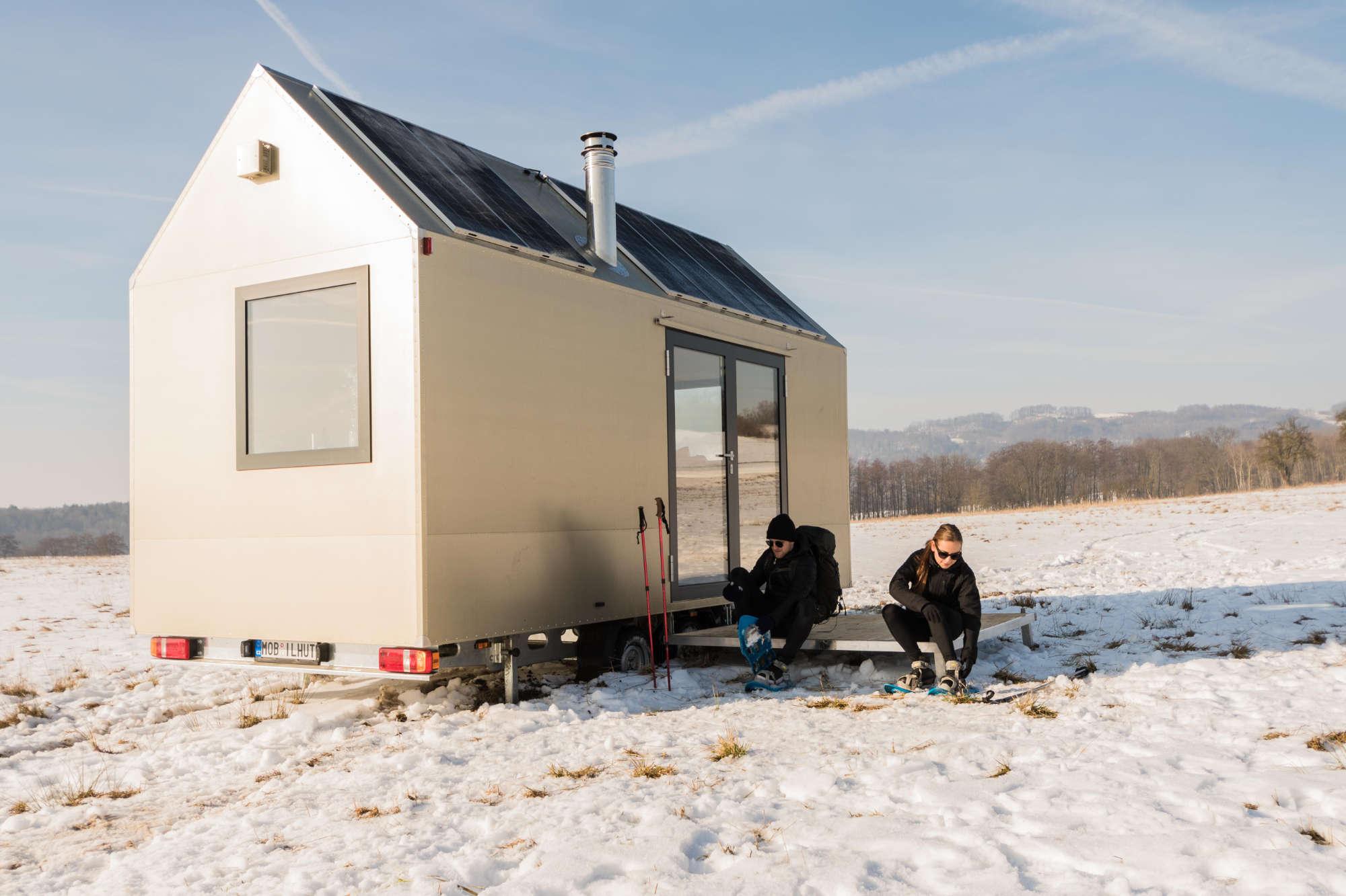Mobile Hut exteriér