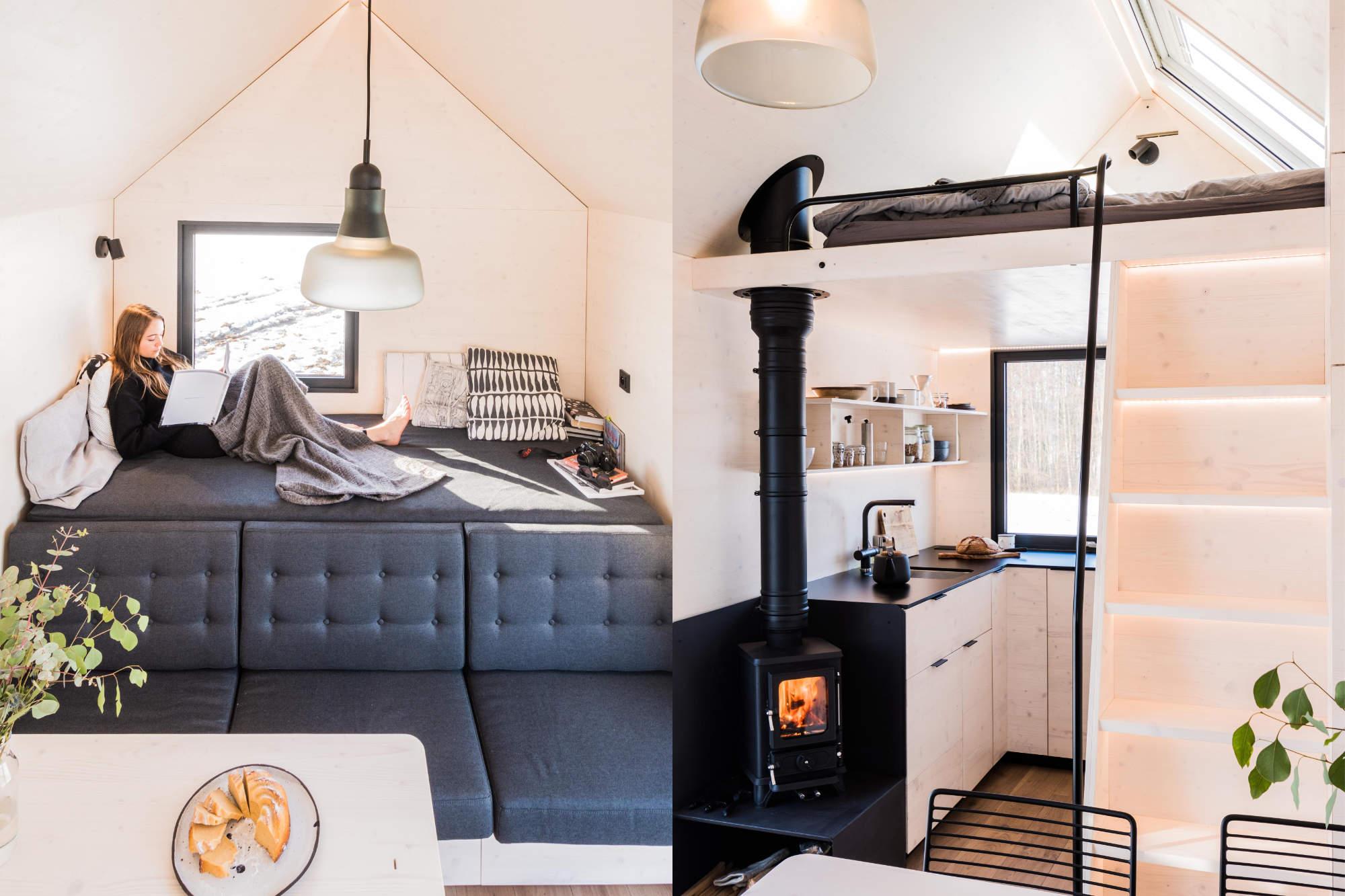 Mobile Hut interiér
